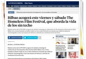 The homeless film festival en Bilbao