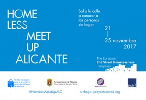 Homeless Meet Up Alicante te necesita
